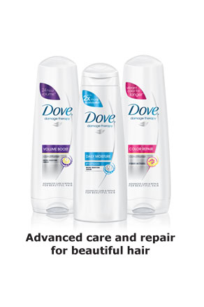 Dove® Damage Therapy - Advanced care and repair for beautiful hair