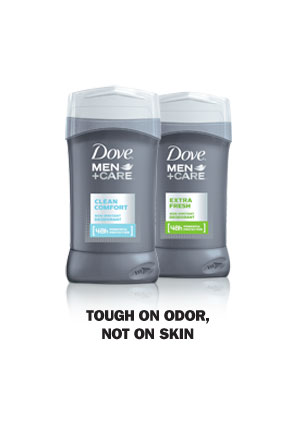 Dove® Men+Care Deodorant - Tough on Sweat, Not on Skin