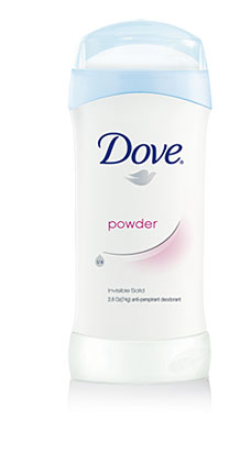 Dove Invisible Solid, Powder