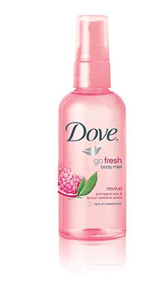 Amazon Com Dove Go Fresh Revive Body Mist 3 Ounce Pack