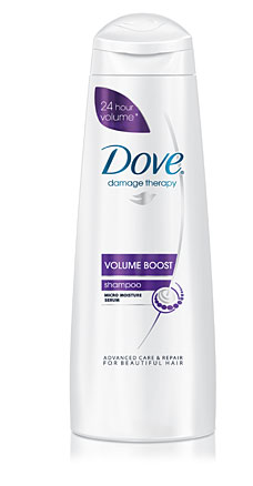 Dove Damage Therapy Volume Boost Shampoo