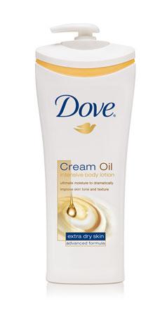 Dove® Intensive Cream Oil Body Lotion