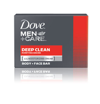 Dove&reg; Men+Care Deep Clean Body + Face Bar