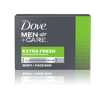 Dove® Men+Care Extra Fresh Body + Face Bar