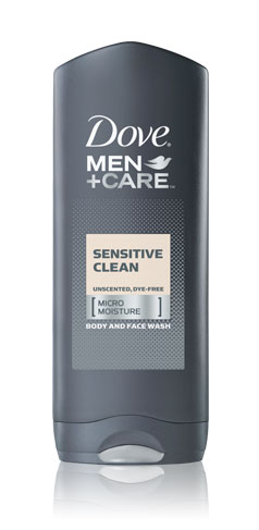 Dove &reg; Men+Care Sensitive Clean Body and Fash Wash
