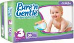 Pure 'n Gentle Diapers