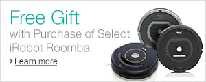 iRobot Roomba Gift with Purchase
