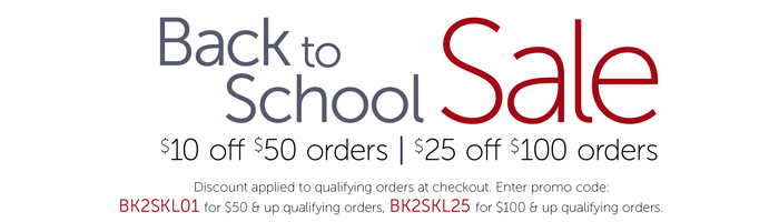 Clothing Back to School Sale