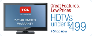 HDTVs Under $499