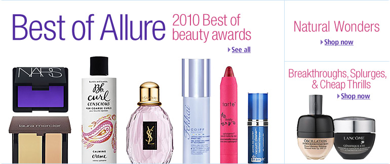 allure best makeup. Allure#39;s Best of Beauty