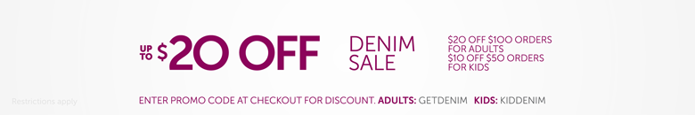 Denim Sale