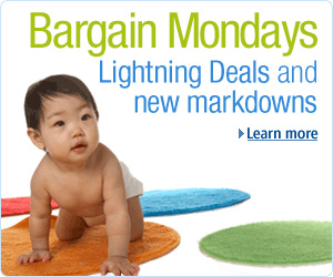 Baby Bargain Mondays at Amazon.com