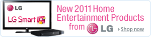 New 2011 Home Entertainment Products from LG