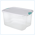 Storage boxes and bins