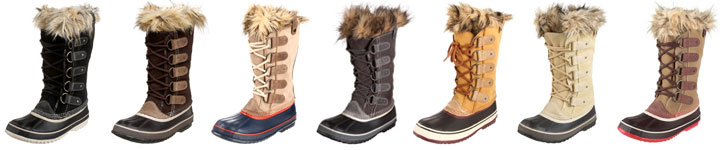 SOREL Women's Joan of Arctic Boot Lineup