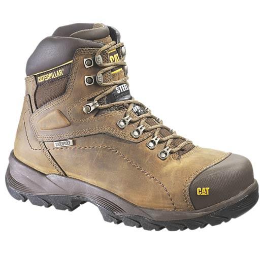 Cat Footwear Men's Diagnostic Hi Cut Cap Soft Toe Waterproof Boot