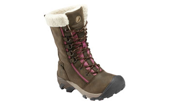 Keen Women's Hoodoo High Lace-Up Waterproof Winter Boot Product Shot