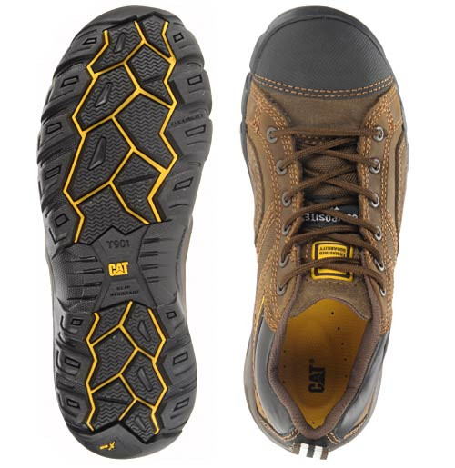 SRX outsole compound offers extreme slip resistance. View larger .