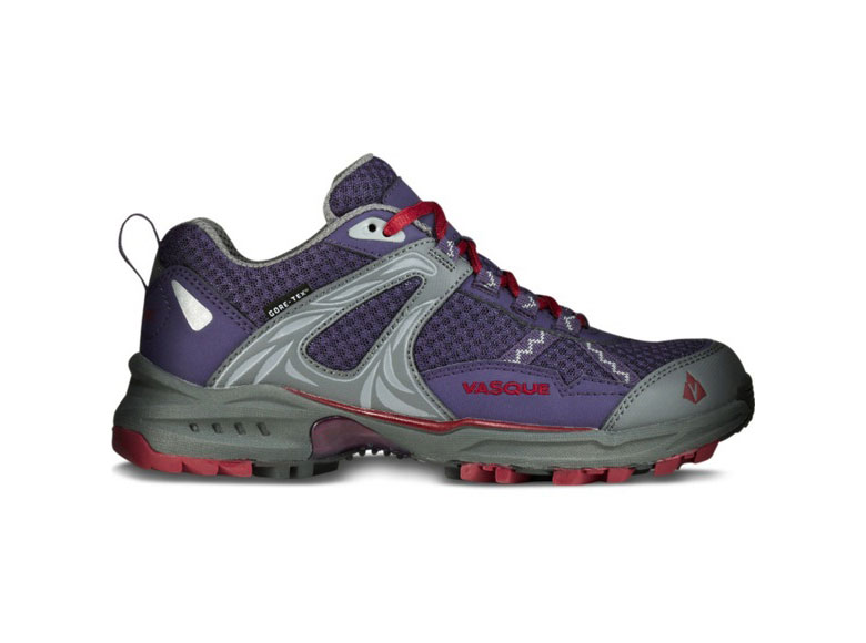vasque s velocity 2 0 gtx trail running shoe purple plumeria chili pepper 5 m