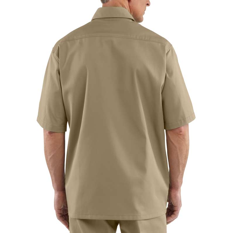 Carhartt Men 39 S Twill Work Shirt Short Sleeve