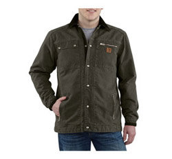 Carhartt Men's Sandstone Multi-Pocket Jacket Product Shot