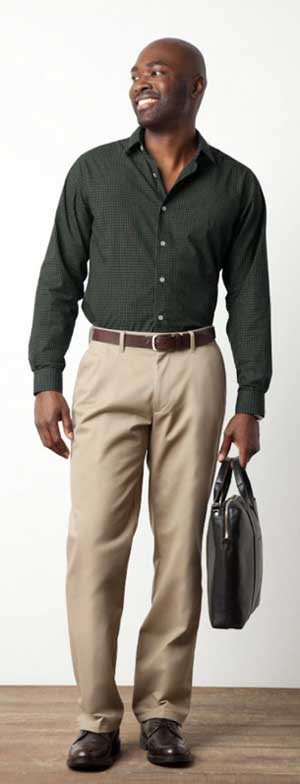 Dockers Stain Defender Khaki Product Shot