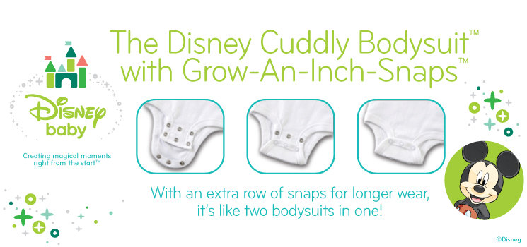 Disney Cuddly Bodysuits