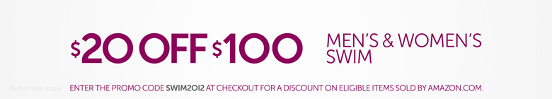 $20 Off $100 Swim for Women and Men