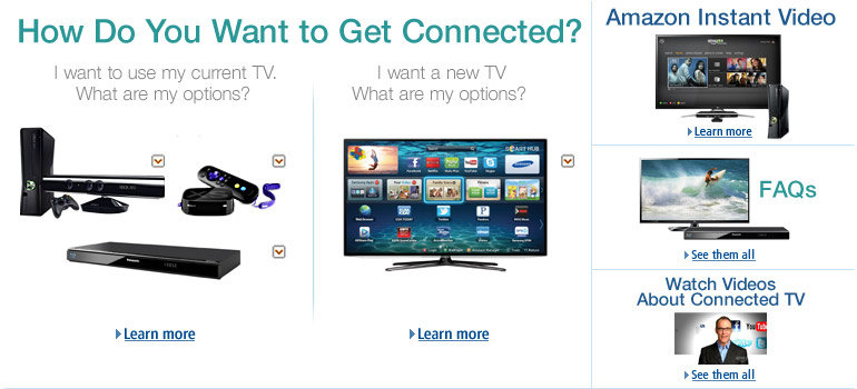 How Do You Want to Get Connected? Smart TVs, Blu-ray players, and more