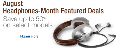 August Headphones-Month Featured Deals