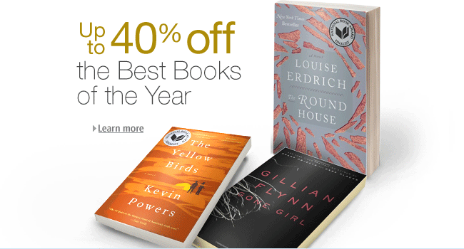 40% off Amazon books