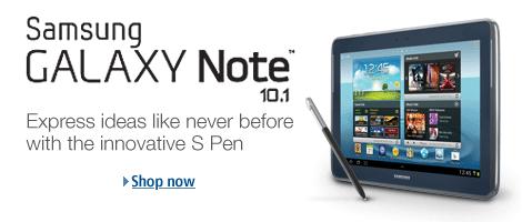 亚马逊海淘:三星Galaxy Note 10.1 四核平板电脑