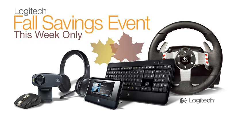 Logitech Fall Savings Event