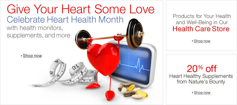Amazon.com: Heart Health Month: Health & Personal Care