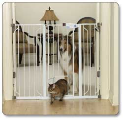 Carlson Extra Tall Walk Through Pet Gate Product Shot