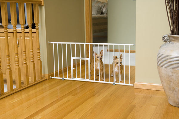 Carlson Puppy Small Dog Gate Step Over Baby Safety W