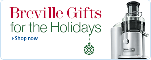 Breville Kitchen Appliance Gifts for the Holidays