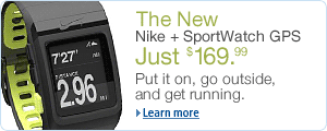 The New Nike+ SportWatch GPS