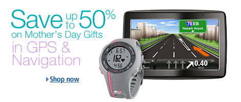 Mother's Day Gift Ideas in GPS & Navigation