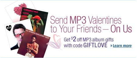 mp3 vday gifting tcg. V138823786  $2 off mp3 albums