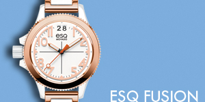 The ESQ Movado Fusion Collection