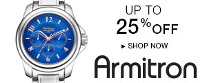 Save up to 25% on Armitron Men's Watches for Holiday