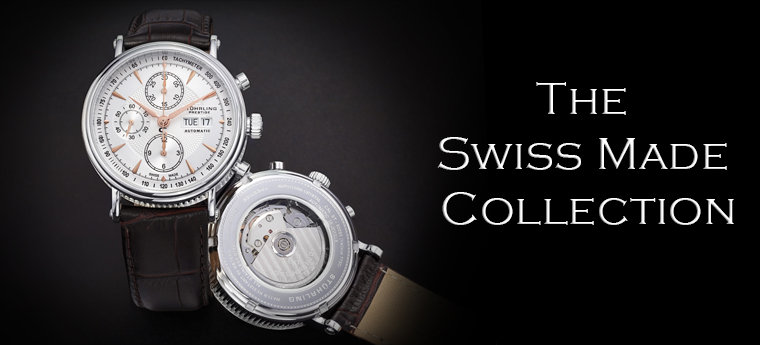 Stuhrling Swiss Made Collection
