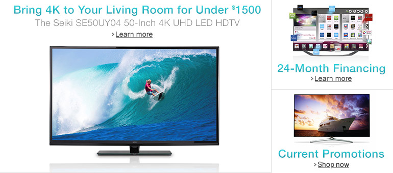 Bring 4K to Your Living Room for Under $1500