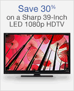 Save 30% on a Sharp 39-Inch LED 1080p HDTV