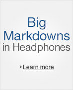 Big Markdowns in Headphones