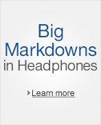 Big Markdowns in Headphones
