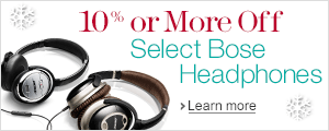 10% Off or More on Select Bose Headphones
