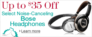 Up to $35 Off Select Noise-Canceling Headphones from Bose