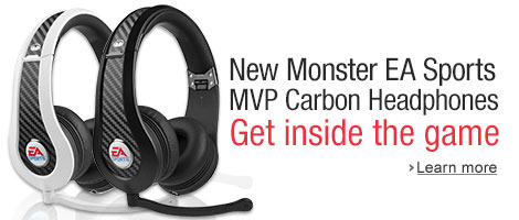 New Monster EA Sports MVP Carbon Headphones